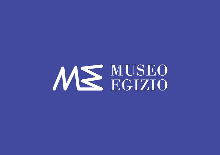 The rhythmic and continuous ductus symbolically alludes to the importance water had, at geographical and historical level, for Egypt and Turin #museoegizio #logo #graphic #coordinated image #corporateidentity #Egypt #art #history #hieroglyphic #sign #ductus #Nile #everchanging #iconicsymbol