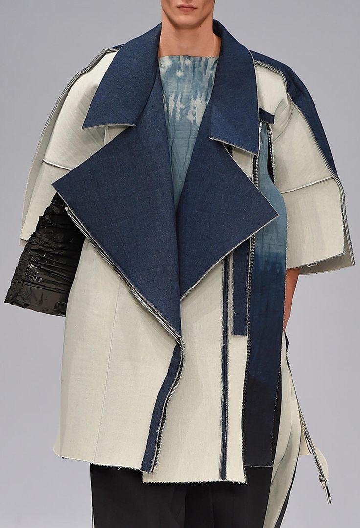 "monsieurcouture: ""Ximon Lee F/W 2015 Menswear Stockholm Fashion Week """
