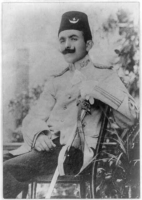 ENVER BEY.Enver Pasha, 1881?-1922