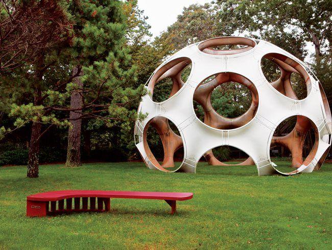 Jack Lenor Larsen S Longhouse Reserve Garden Design Public