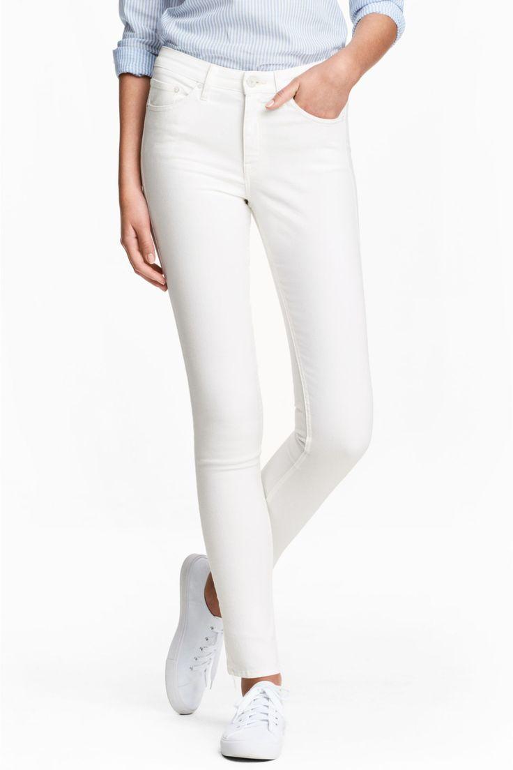 Twill trainers - White - Ladies | H&M GB