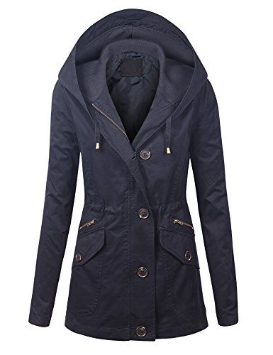 New Trending Outerwear: LL WJC1043 Womens Lightweight Casual Parka Anorak Jacket M NAVY. LL WJC1043 Womens Lightweight Casual Parka Anorak Jacket M NAVY   Special Offer: $29.95      299 Reviews This lightweight casual anorak parka jacket is a spaled item for perfect outwear. It features 100% lightweight cotton fabric for comfort, inside waist drawstring, hoodie with adjustable...
