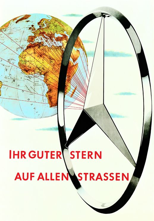 """""""Your guiding star on every road"""" from 1956, also by Atelier Harry Preußner."""