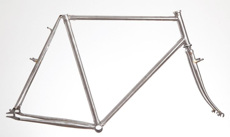 Rusby Cycles produces beautiful bespoke steel and stainless steel bike frames out of a small workshop in London.