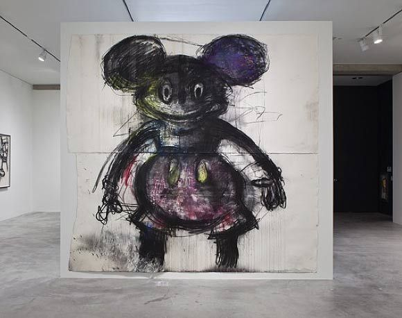 Meet Joyce Pensato And Her Expressionist Remixes of Cartoon Icons