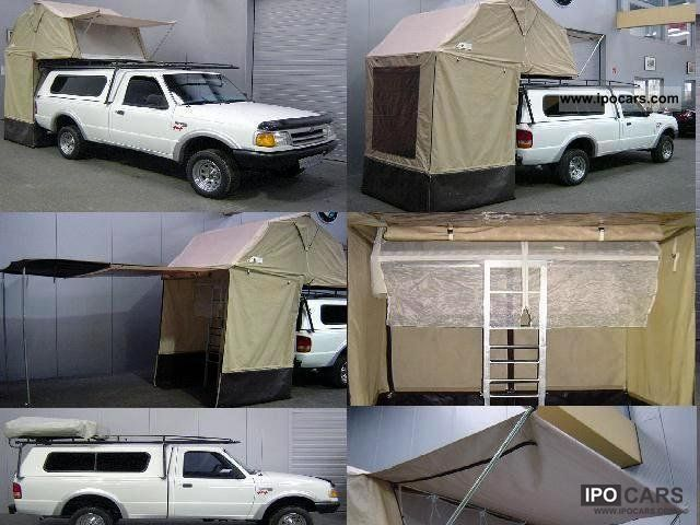 1994 Ford Ranger Xl Longbed 4x4 Flush With Roof Tent Off