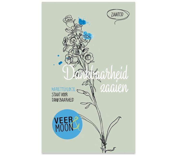 Bloemzaadjes van Veer&Moon - Dankbaarheid zaaien. www.Millows.nl