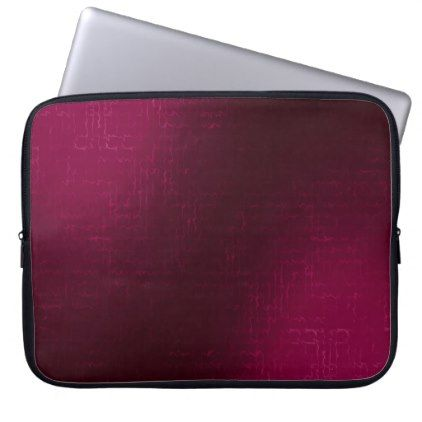 Cascade (Pink) Neoprene Laptop Sleeve - cyo diy customize unique design gift idea perfect