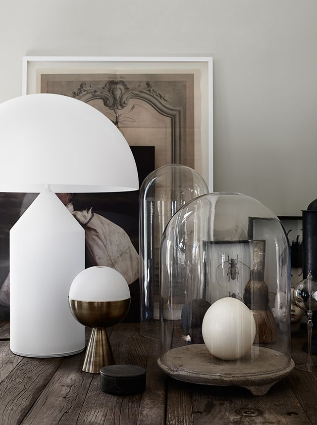 The Gothenburg home of Artilleriet's owners - filled with treasures / photo - Kristofer Johnsson.