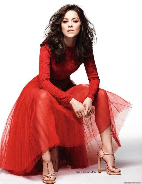 Marion Cotillard photographed by Alexei Hay in 2012 #fashion #style