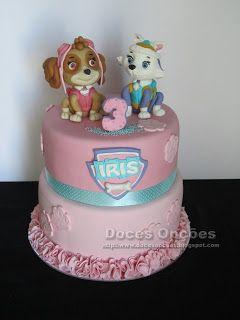 Doces Opções: A Patrulha Pata no 3º aniversário da Iris