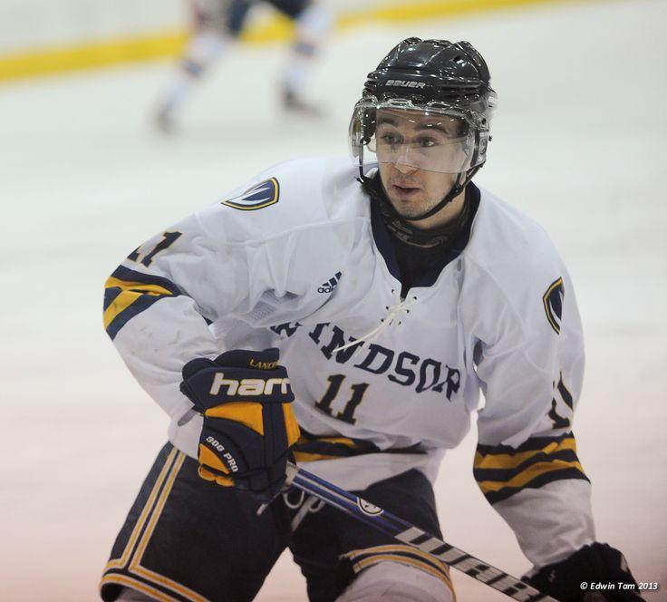 Spencer Pommells, 2012-13 Men's Hockey, Credit: Edwin Tam