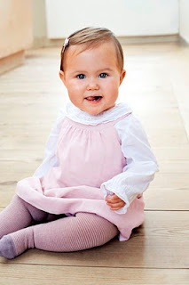 Josephine of Denmark (Born 2011). Daughter of Crown Prince Frederick and Crown Princess Mary.