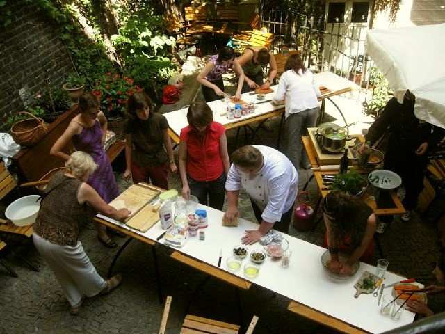 Warsztaty kulinarne w Dragonie  www.babilad.pl