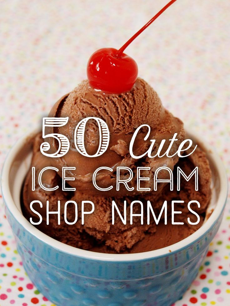 Opening a business never tasted so good! Check out this list of 50 cute ice cream shop name ideas to help you choose a name as delicious as your shop's frozen treats!