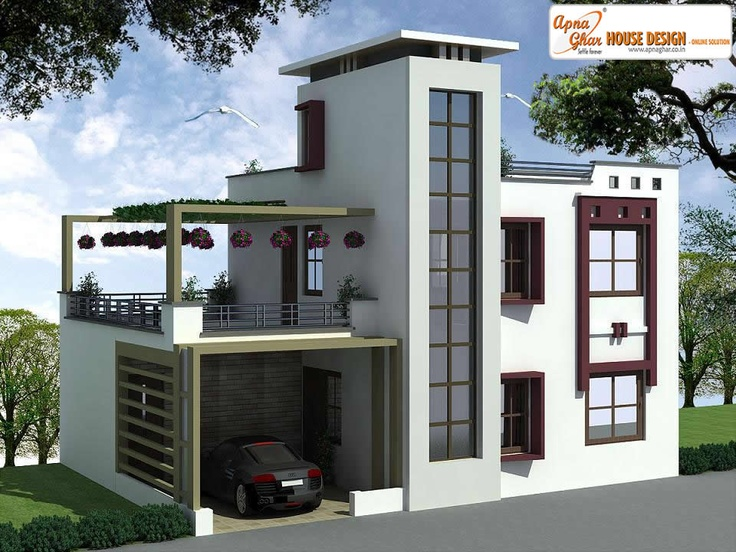 4 Bedroom Pretty Duplex (2 Floors) Home.Click On This Link (http · Duplex House  DesignModern ...
