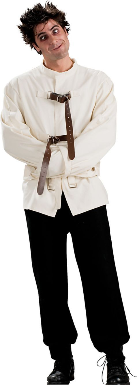 Strait Jacket Costume for Adults - Party City $30