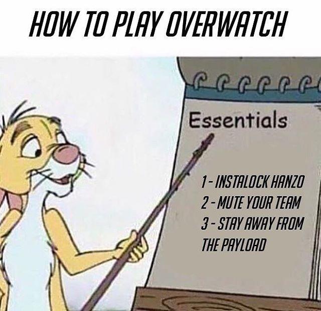 Hanzo memes = Best memes #overwatch #overwatchmemes