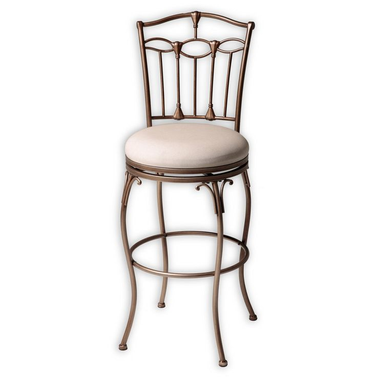 Concord 30 in. Swivel Bar Stool - Brushed Bronze - Express your style with the Concord 30 in. Swivel Bar Stool - Brushed Bronze . Impeccable design creates a bar-height stool that's a delight to the...