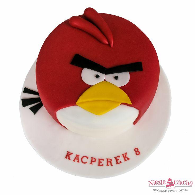 Angry Birds, tort w ksztłacie Angry Birds, torty bajkowe, torty dla dzieci, urodziny dziecka, torty urodzinowe, dziecko, Tarnów