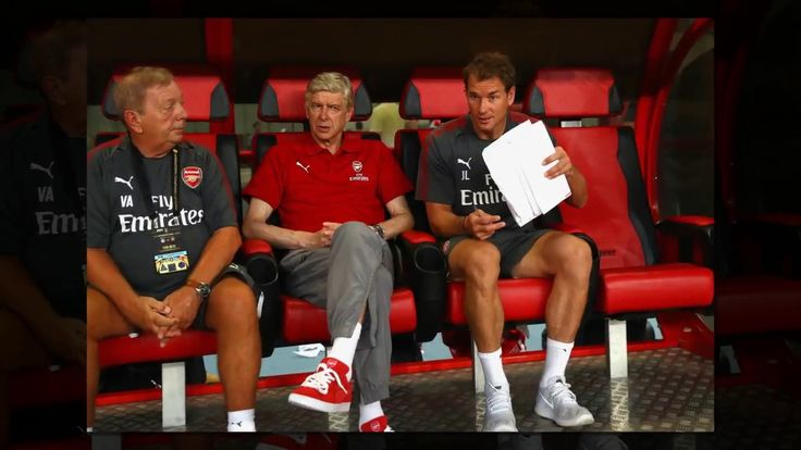 Arsenal fans go nuts over Arsene Wengers new bright red trainers but you cant buy them