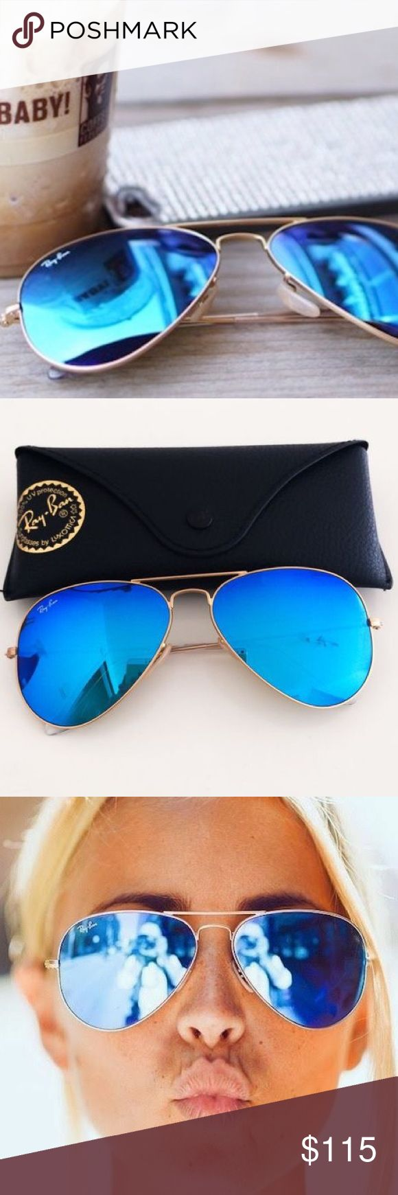 8924e2fafac06 ray ban aviador espelhado azul ray ban new wayfarer lens color
