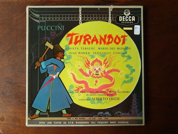 Puccini - Turandot - Renata Tebaldi, Mario Del Monaco, Inge Borkh, Fernando Corena, Academia Santa Cecilia Roma, Alberto Erede, Decca