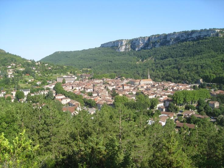 Our village Saint Antonin Noble Val in the Tarn-et-Garonne France