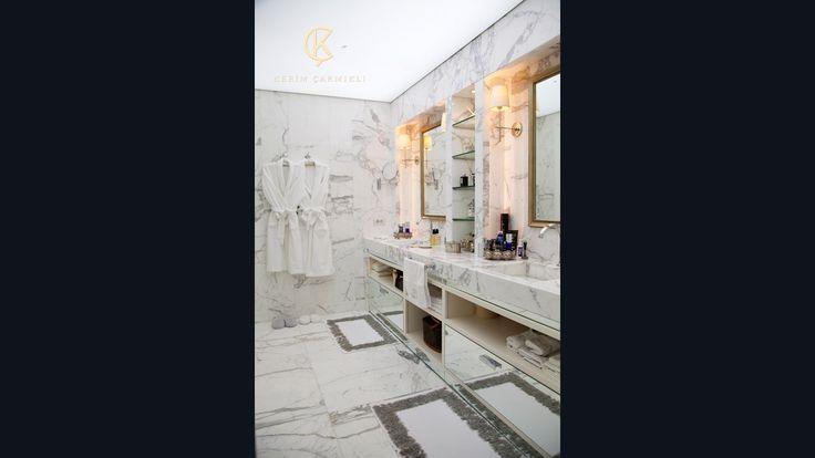 ÇUBUKLU VADİ EVİ / 2013   Kerim Çarmıklı İç Mimarlık Ofisi   İç Mimari Proje#home#interior design#bathroom