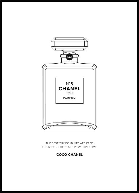 Chanel no 5 parfym poster