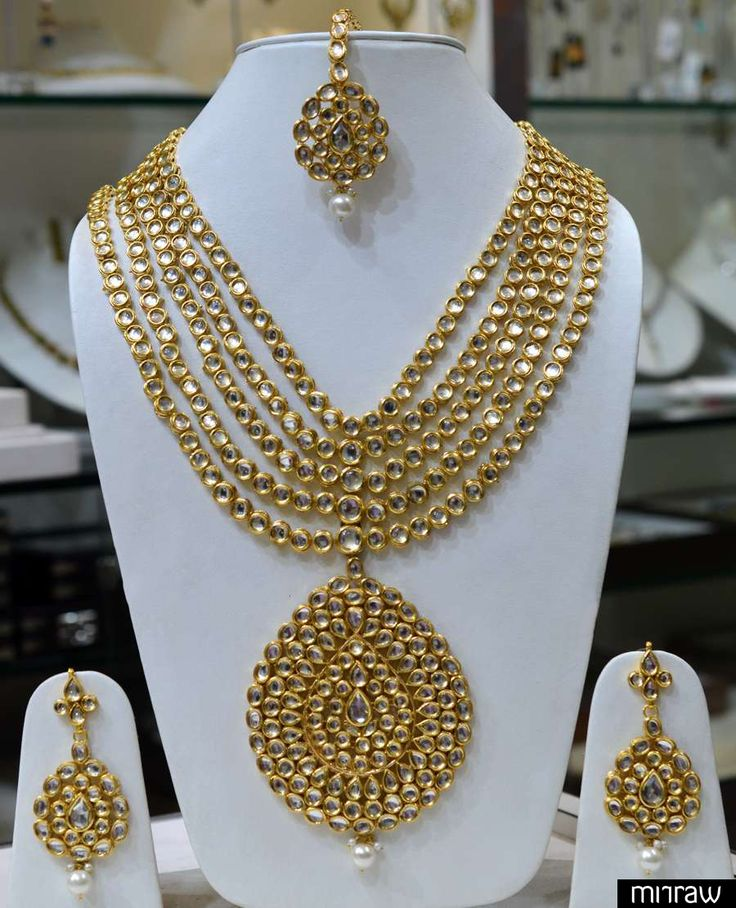 Indian Bridal Wedding Pearl Rani Haar Choker Necklace Sets: UX/UI Designer, Ethnic And