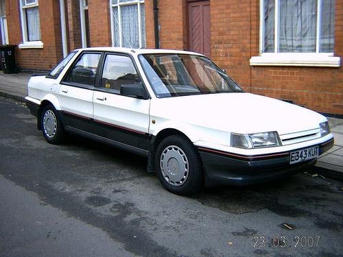 Car 16 was an Austin Montego