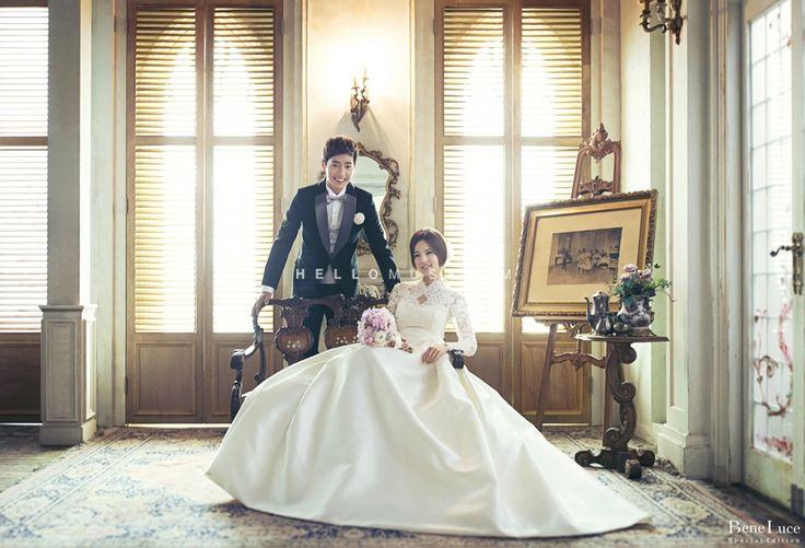 simple and elegant photography has been taken at lavish studio in Korea