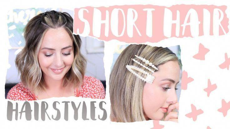 EASY Frisuren für kurzes Haar 2019! - #hairstyles #short - #HairstyleCuteCurls #shorthairstyles