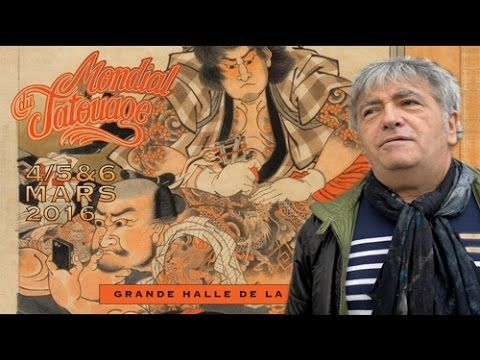 Teaser Mondial du Tatouage 2016 avec Jean-Yves Lafesse