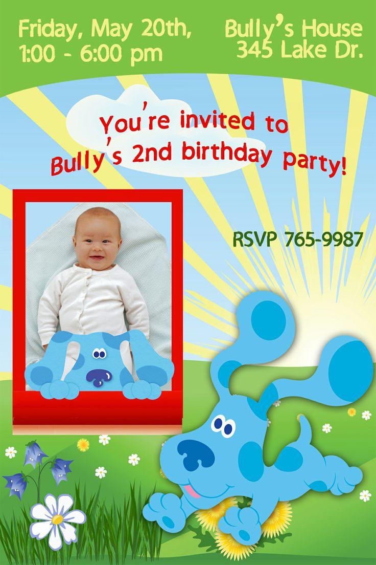 29 best blue u0027s clue party images on pinterest blues clues clue