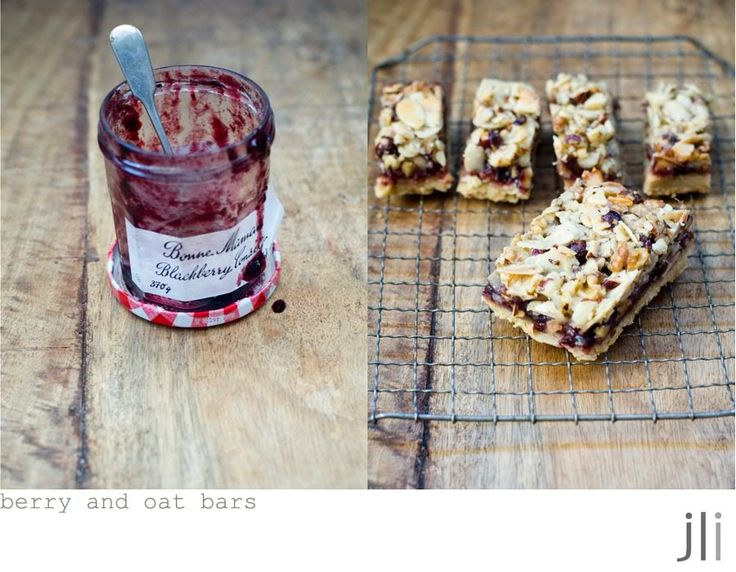 Berry and Oat Barsfrom Ottolenghi: The Cookbook