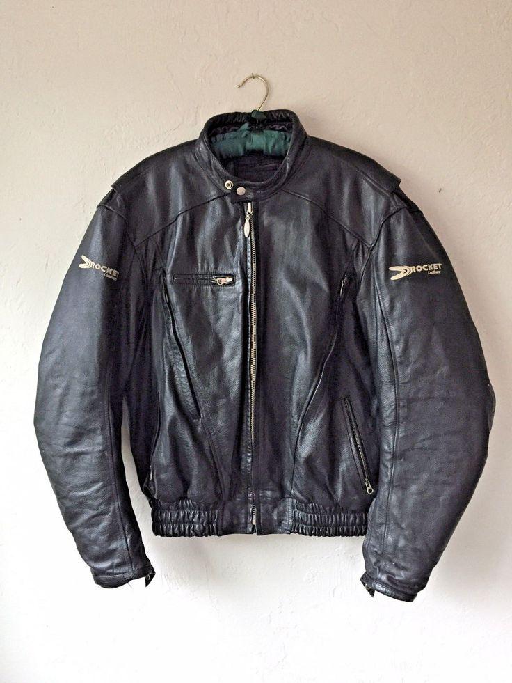 #apparel Joe Rocket Sonic Leather Motorcycle Riding Jacket *FREE SHIPPING IN THE U.S.* please retweet