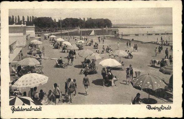 ITTHON VAGY - NÉZZ KÖRÜL NÁLUNK...: Balatonalmádi régi képeslapokon / Folytatás a posz...