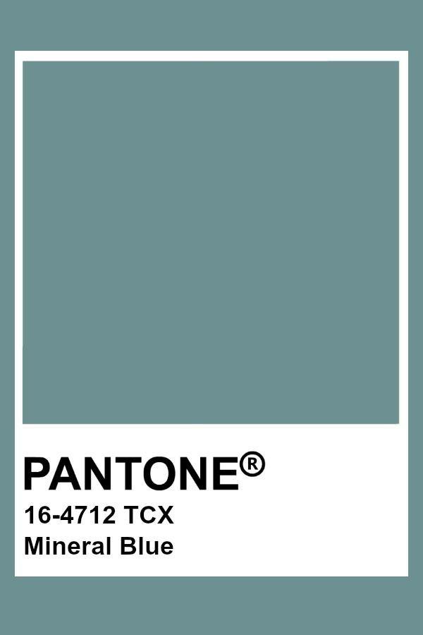 Pantone Mineral Blue In 2020 Pantone Colour Palettes Pantone Palette Pantone Color