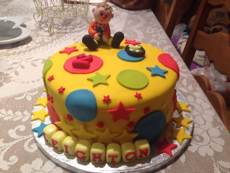 Mr Tumble Birthday Cake