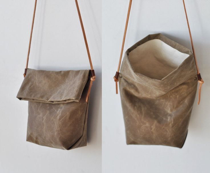 DIY : Leather bag / Cuir sac