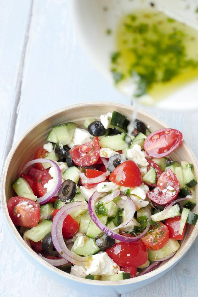 Rezepte Griechischer Salat