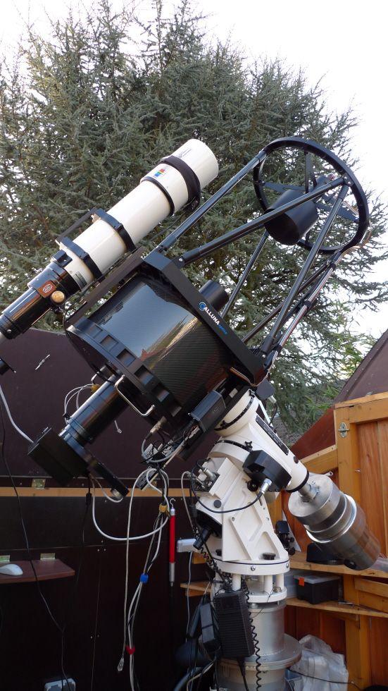 amateur space telescope follow