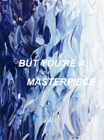 """Ravenclaw Aesthetic  Halsey • Colors: """"You're ripped at every edge, but you're a masterpiece"""""""