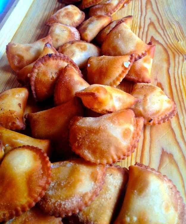 Cassatelle alla Trapanese (Trapani-style Fried Crescents)