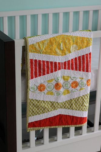 I would really like to make this quilt for our baby boy.  It seems easy enough...now to find the time and energy.  Seriously.
