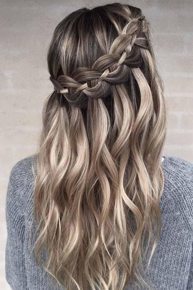 48 coiffures faciles tressées: Glorious Long Hair Ideas