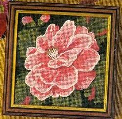 Glorafilia Tapestry Needlepoint Canvas - Camellia