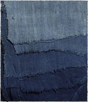 Beautiful denim colors for curtains or what ever...via Lotta Agaton/ magazine Bloom